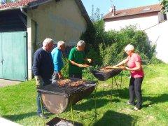 Randonnée barbecue.